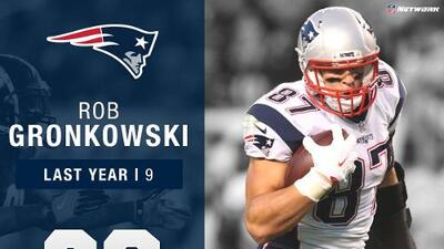 #23: Rob Gronkowski (TE, Patriots) | Top 100 Jugadores 2017