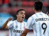 Estudiantes venció 2-1 a Racing y se consolidó de líder en Argentina