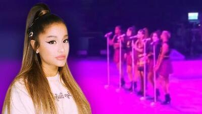Ariana Grande rompe en llanto en su concierto al recordar a su fallecido exnovio