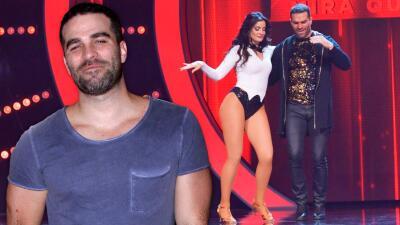 Alejandro Nones quiere sacar a bailar a Dayanara Torres... como en los viejos tiempos