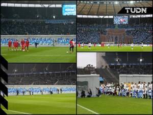 Hertha conmemora los 30 años de la caída del muro de Berlín