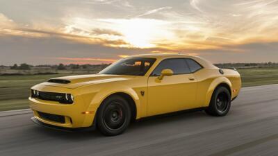 Hennessey hace del Challenger SRT Demon el 'muscle car' más rápido del mundo
