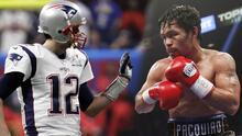 ¡De leyenda a leyenda! Pacquiao felicita a Tom Brady por su triunfo en el Super Bowl LIII