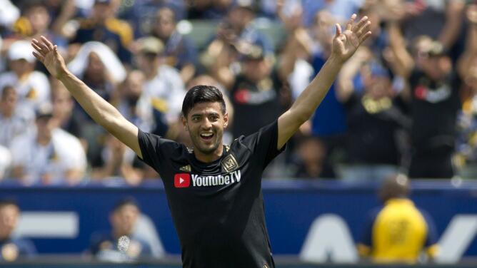 ¡Pero qué curvas! Cinco goles de la MLS en los que predominaron los 'chanfles'