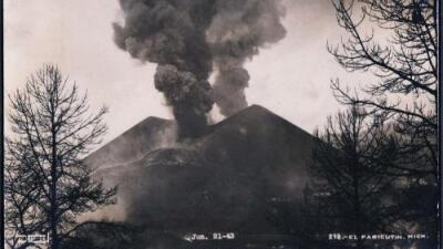 Esta es la historia del Paricutín, el único volcán de América que un campesino vio nacer