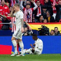 Vinicius y sus travesuras con Real Madrid desquiciaron al Atlético en el derbi