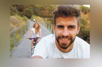 Delfines, besos y paseos en bicicleta: esto es 'chillin' según Shakira