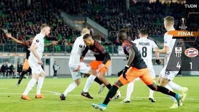 El PSV y Erick Gutiérrez cayeron fulminados por el LASK