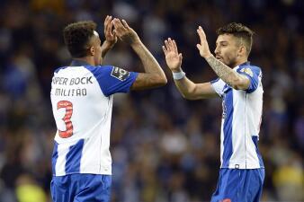 En fotos: Porto sigue su mano a mano con Benfica: superó en casa al Marítimo