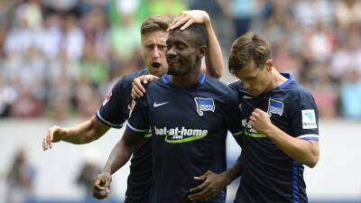 Salomon Kalou coloca al Hertha en lo alto de la Bundesliga con 'hat-trick' al Hannover