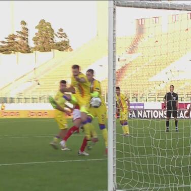 ¡Es para el otro lado! Autogol de Emili García y Malta empata 1-1