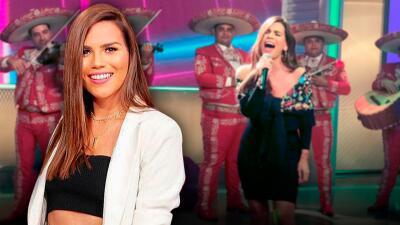 Cantando 'Te quedó grande la yegua', Karina Banda se coronó como la ganadora indiscutible de 'La Hora Loca'