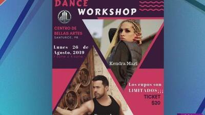 Danny Lugo prepara un taller de baile para talentos boricuas