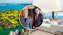 Enorme y exclusivo el lugar que Ivanka Trump alquiló mientras construye su mansión en Miami