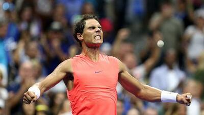 El rey sigue vivo... Nadal avanzó en el US Open tras partidazo