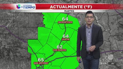 El centro de Texas tendrá un miércoles nublado