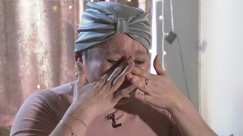 El drama de una madre mexicana con cáncer que teme ser desalojada del apartamento donde vive con sus siete hijos