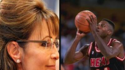 Reporte: Sarah Palin tuvo relación sexual con Glen Rice, ex jugador del Miami Heat