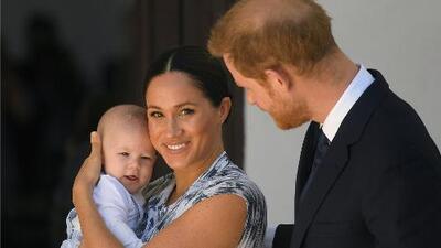 Archie, el hijo del príncipe Harry y Meghan Markle, reaparece muy sonriente durante el viaje real a Sudáfrica