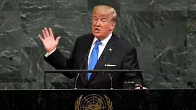 Verdades o mentiras: Verificamos si lo que dijo Trump en la ONU es cierto