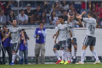 En fotos: Leones Negros sufre dos expulsiones y cae 4-2 ante los Rojinegros en la Copa MX
