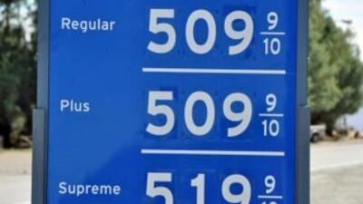 El galón de gasolina subió 20 centavos en dos semanas