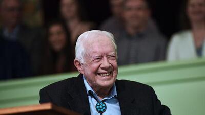 Jimmy Carter está de acuerdo en que Trump es un 'presidente ilegítimo'