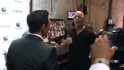 Detrás de cámaras: Alan Tacher tuvo miedo a la reacción de Vin Diesel