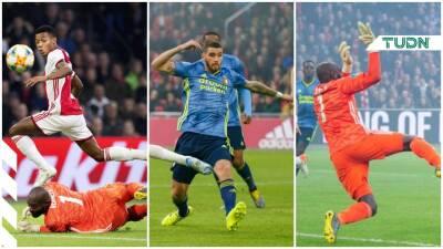 Edson Álvarez ve minutos en la goleada del Ajax al Feyenoord