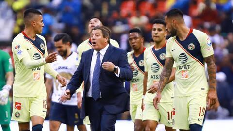 Sin Marchesín y con Insaurralde, el 11 titular del América para el duelo ante Dorados por Copa MX
