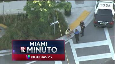 'Miami en un Minuto': autoridades intensifican la búsqueda de sospechoso acusado de apuñalar mortalmente a un hombre