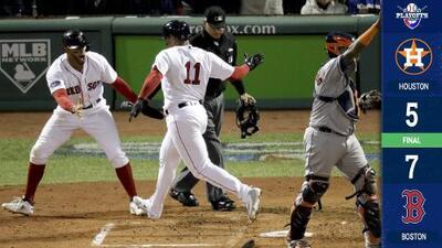Los Red Sox ganan el Juego 2 ante los Astros y evitan tragedia en casa