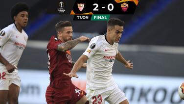 Sin despeinarse... Sevilla echó a la Roma y ya está en Cuartos de Final