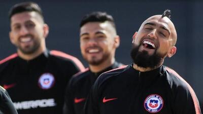 Reinaldo Rueda dio a entender que Arturo Vidal estará con Chile ante México