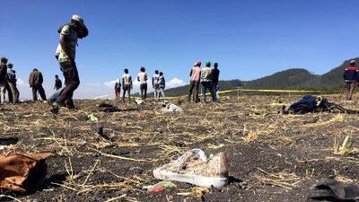 Se estrella avión con 157 personas a bordo en Etiopía: no hay sobrevivientes