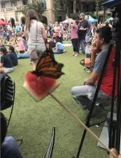 En fotos: Así transcurrió el festival de la mariposa monarca en The Pearl