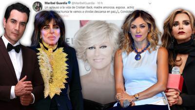 """""""Una triste noticia que cuesta trabajo entender"""": atónita Verónica Castro y otros famosos por la muerte de Christian Bach"""
