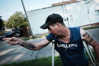 En fotos: Ohio, el desolador reflejo de la epidemia de los opioides