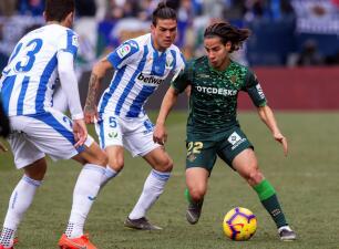 En fotos: con Guardado y Lainéz en cancha, Betis cayó 3-0 en su visita al Leganés