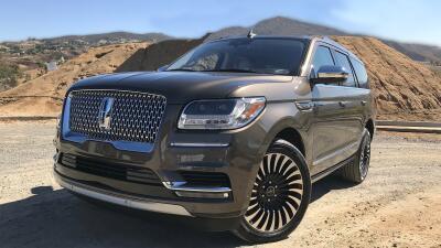 Imágenes de la nueva Lincoln Navigator 2018