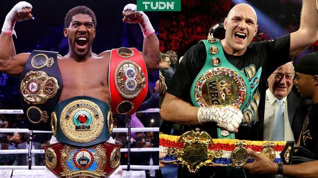 Definen sede para pelea Anthony Joshua vs. Tyson Fury