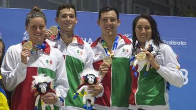 La natación mexicana tiene su revancha y domina en Barranquilla 2018