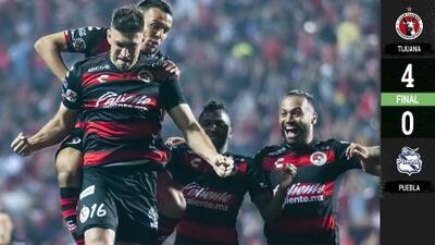 Xolos gana 'su Final' contra Puebla y califica in extremis a Liguilla