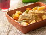 Pollo a la cacerola con papas (fácil y rico)