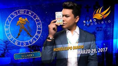Niño Prodigio - Acuario 29 de marzo, 2017