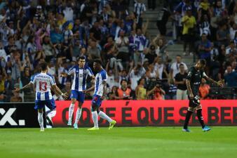 Marchesín, 'Tecatito' y Mateus participan en la goleada del Porto ante Vitoria Setúbal