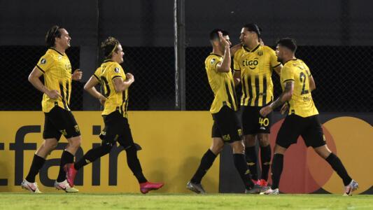 Cecilio Domínguez anota con Guaraní en la Libertadores