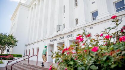La Cámara de Representantes del estado de Alabama, sede de múltiples protestas desde que la legislación se aprobó.