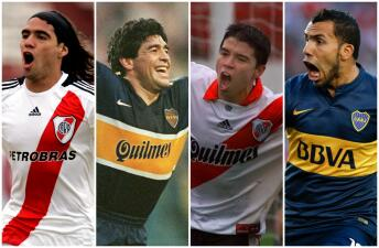 El Superclásico conquistador: 12 jugadores de River y Boca que brillaron en Europa