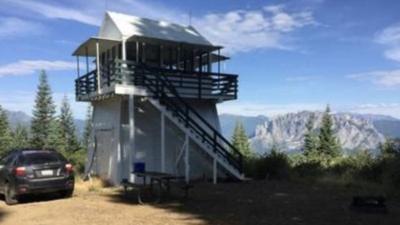 Antiguas torres de vigilancia para incendios ofrecen unas vacaciones diferentes para aventureros